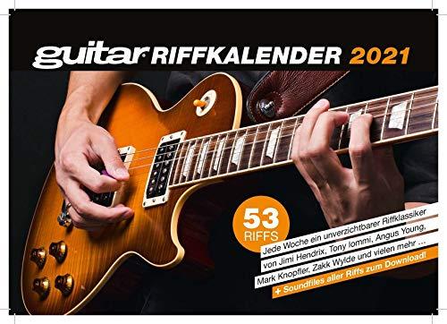 guitar-Riffkalender 2021: Wochenkalender