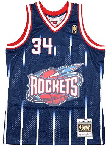 Mitchell & Ness Hakeem Olajuwon Houston Rockets - Camiseta para hombre, color...