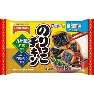 """テーブルマーク のりっこチキン6個入りX12袋 冷凍食品"""""""