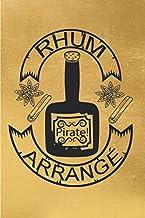Rhum Pirate Arrangé: Cadeau pour les amateurs de rhum arrangé | Carnet de recette de Rhum Arrangé A Remplir