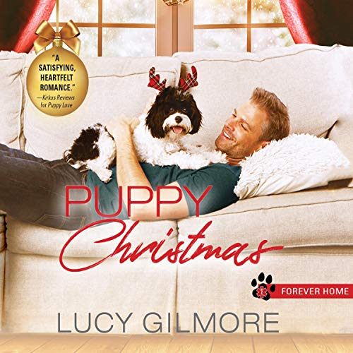 Puppy Christmas cover art