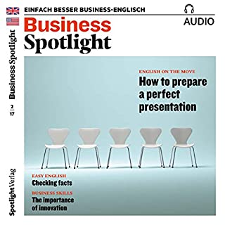 Business Spotlight Audio - Preparing a perfect presentation. 2/2017 Titelbild