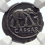 1000 unknown JULIUS CAESAR Authentic Ancient 49BC AR Coin w EL...