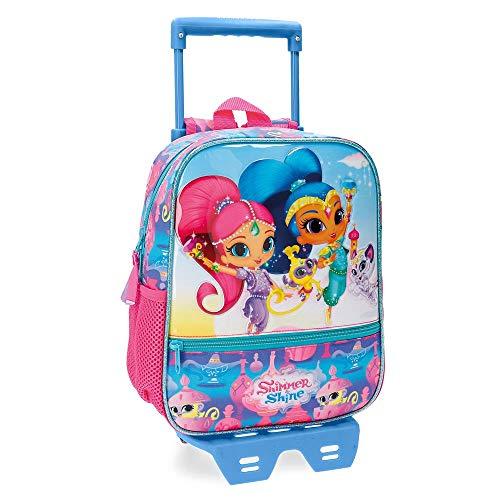 La mejor mochila infantil con ruedas: Shimmer and Shine Twinsies