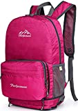 YJIUJIU - Mochila de ciclismo (20 L, transpirable, impermeable, para correr, senderismo, escalada, camping, esquí, maratoner, hombres y mujeres, color rosa