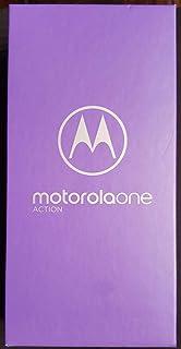 موتورولا موتو ون اكشن - (سينجل سيم) 128 جيجا, 4 جيجا رام - ازرق