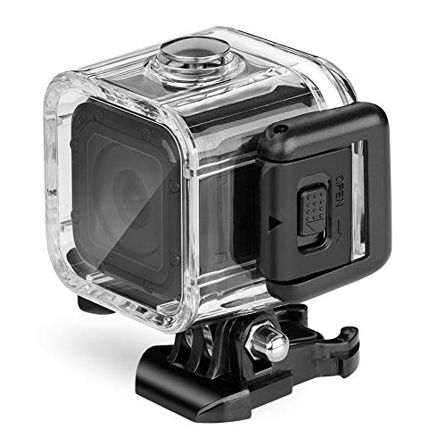 Nechkitter Waterproof Housing Case for GoPro Hero 5 4 Session, 147ft (45m) Dive Protective Underwater Housing Case for Hero Session Action Camera
