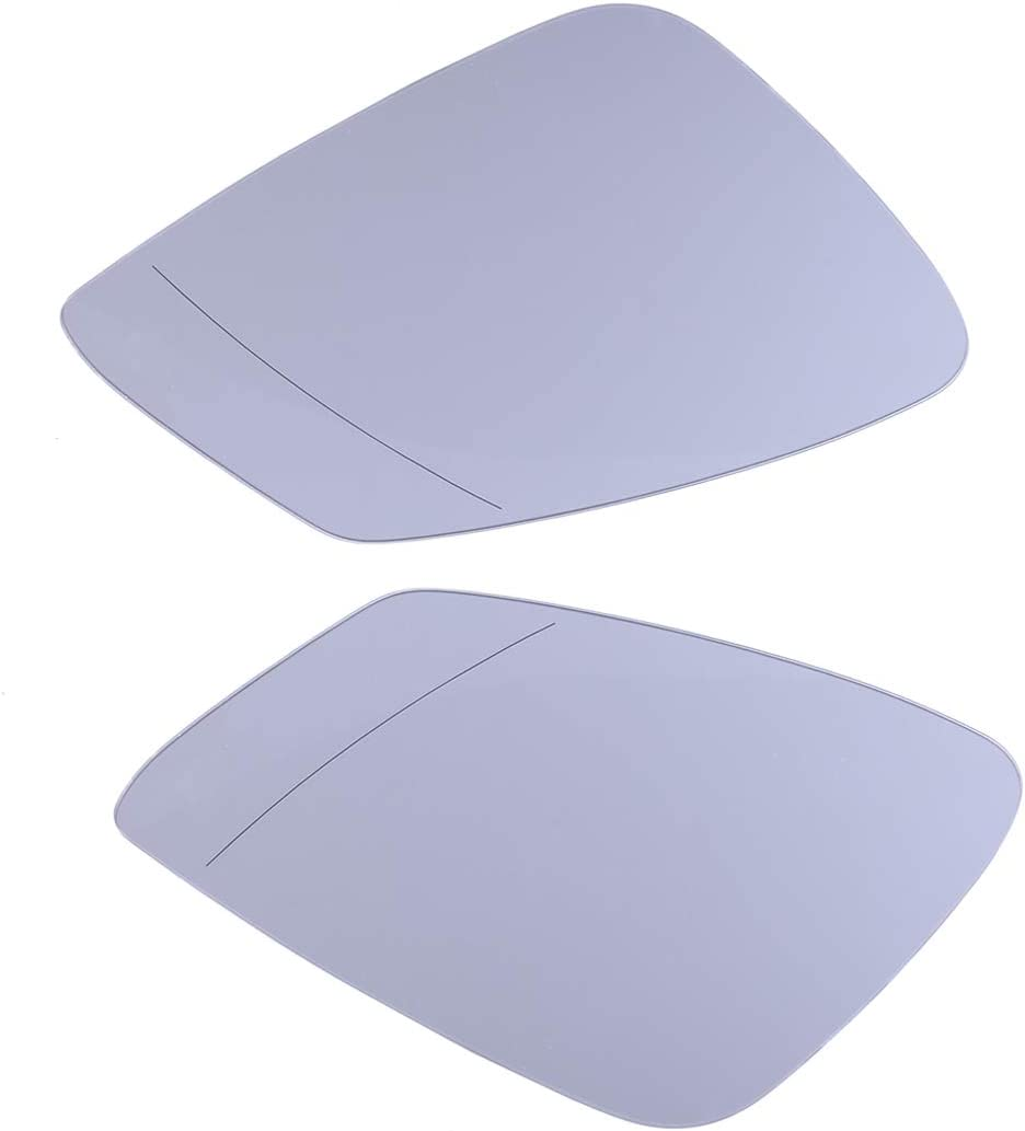 Max 80% OFF CITALL New product 1Pair Clear Side Heated Wing Mirror Door for BM Fit Glass