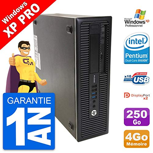 HP ProDesk 600 G1 SFF Intel G3220 RAM 4 GB disco duro 250 GB Windows XP (reacondicionado)