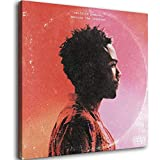 Artwork Childish Gambino Because The Internet Canvas Art Poster and Wall Art Picture Print Modern Family Bedroom Decor Posters