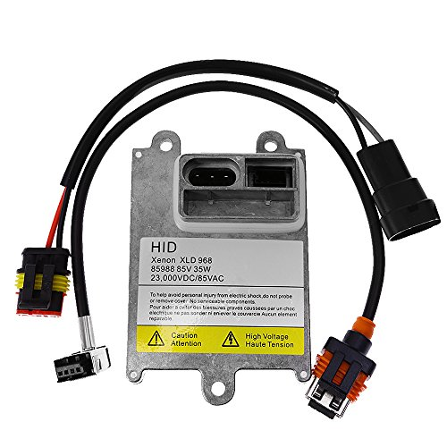 qkparts 1x D1S D1R D1C HID lastre de Stock xenón luz 35W con cable de amplificador