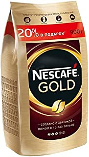 Nescafe Gold 900 gamm (1.98 lb) Instant coffee Big Pack Save 20%/150g