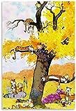 YGYT Bild Auf Leinwand 60x90cm Kein Rahmen 7 Calvin und