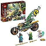 LEGO 71745 Ninjago Chopper de la Jungla de Lloyd Juguete de construcción con una Moto y Mini Figuras de Lloyd y NYA