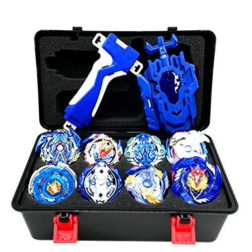 Beyblade Burst Turbo Set, Gyro Burst Kreisel Set,4D Bayblade Spielzeug Geschenk + Launcher Mit Box Set