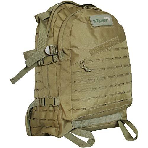 Viper TACTICAL - Sac à Dos Tactique Special Ops - Passants Molle Lazer - 45 litres - Coyote