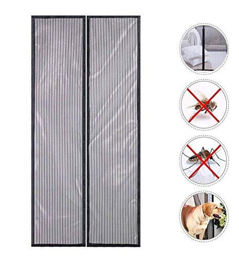 Horren, Magneetscherm Deur 100 X 210 Cm Vlieg Voor Balkondeur Woonkamer Schuifdeur Isolatie Gordijn Hor Gordijn