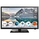 Smart Tech 24' HD Smart TV, Netflix&Youtube&Prime Video