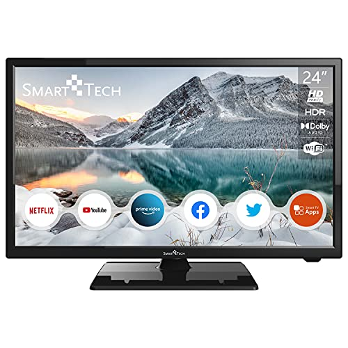 "Smart Tech 24"" HD Smart TV, Netflix&Youtube&Prime Video"