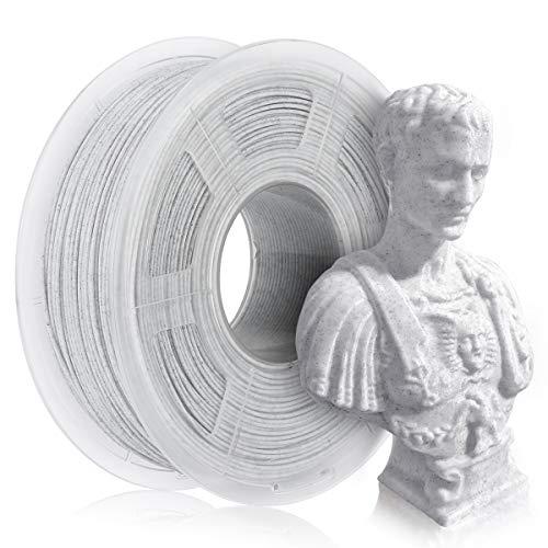Filamento PLA marmo 1,75 mm, filamento stampante PLA 3D 1 kg, filamento colorato marmo
