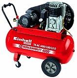 Einhell Kompressor TE-AC 400/100/10 D, 2,2 kW, 100 Liter, Ansaugleistung 400 l/min, 10 bar, 2 Zylinder