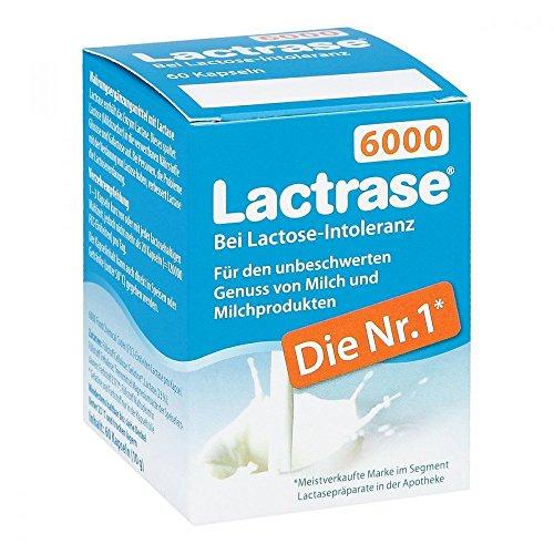 Pro Natura Gesellschaft für gesunde Ernä LACTRASE 6000 FCC, 60 Stück