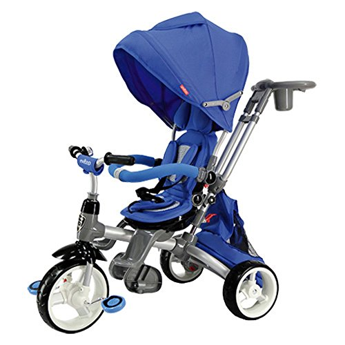 Check Out This Evezo Samzio 4-in-1 Stroller and Trike (Blue)