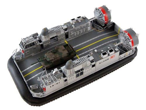 ピットロード 1/144 海自エアクッション型揚陸艇 LCAC+ 10式戦車1輌 キット 付