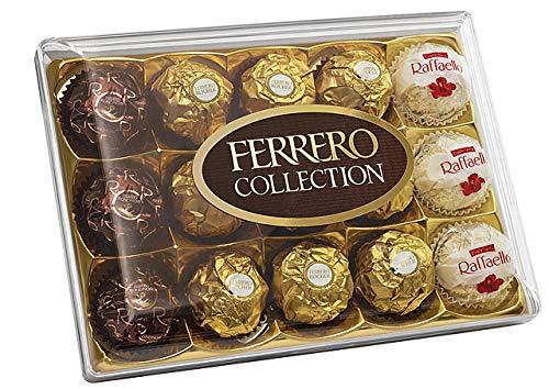 Ferrero Collection mit Rocher, Rondnoir und Raffaello, 1er Pack (1 x 172g)