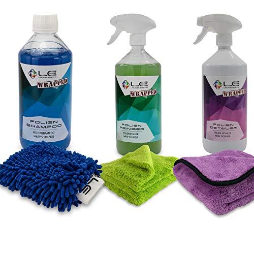 Das Liquid Elements Wrapped Folien Reinigung und Pflege Set - Advanced