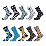 Lieblingsstrumpf24 10er Pack Kinder Socken Jungen Mädchen Baumwolle (31-34, Camouflage Mix Blau)