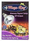 Mega-Ray Mercury Vapor Bulb - 100 Watts...