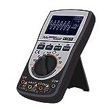 yorten Osciloscopio Digital Inteligente 2 en 1 Multímetro Resistencia de Voltaje de Corriente CC/CA Probador de Diodos de Frecuencia 4000 Cuentas