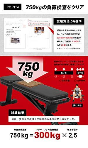 リーディングエッジ(LEADINGEDGE)マルチポジションフラットベンチブラックインクラインデクラインダンベルトレーニングベンチ折りたたみ式インクラインベンチLE-B80