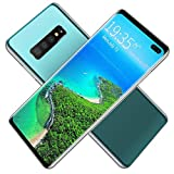 El teléfono inteligente S10 + Android admite teléfonos móviles 4G Pantalla grande de 6.5 pulgadas 6GB RAM 128GB Cuerpo de ROM con conector para auriculares Interfaz USB compatible con WIFI BT GPS
