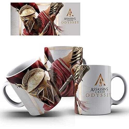 Caneca de Porcelana Presente Assassin's Creed Odyssey mod.64