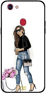 Oppo F5 Case Cover Stylish Walking Girl, Moreau Laurent Premium Phone Covers & Cases Design