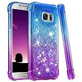 Funda para Samsung Galaxy S7 Edge dise/ño Tempest Blue Cristal Otterbox Symmetry Clear