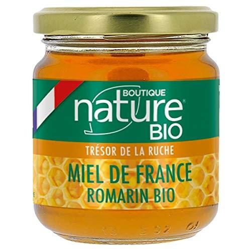 Miel de romarin bio français