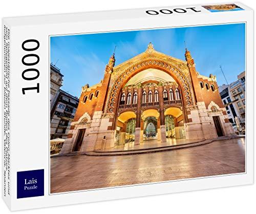 Lais Puzzle La majestuosa fachada del Mercado de Colón y su