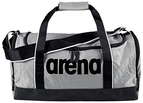 Arena Spiky 2 Medium, Borsa Nuoto Sportiva da 32 Litri Unisex Adulto, Grigio (Silver Team), Taglia Unica