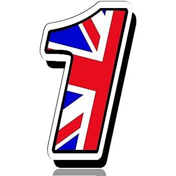 GB CICLISMO CASCO Cornice Adesivo Decalcomania Bandiera Union Jack