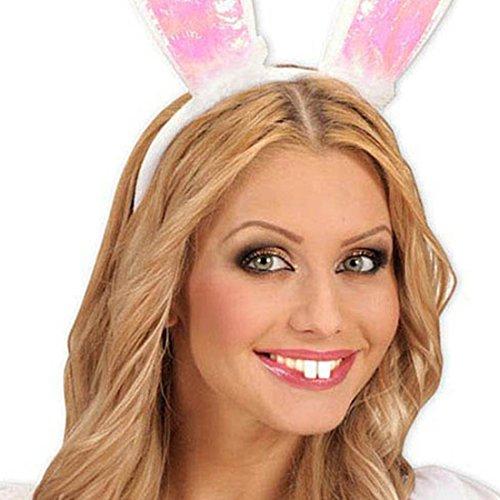 NET TOYS Dents de Lapin Dents Lapin Blanches Dents de Bunny Fausses Dents Petit Lapin Dents de Carnaval Accessoire déguisement Lapin