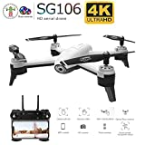 Redcolourful SG106 RC Drone Flusso Ottico 1080P 4K HD Doppia Fotocamera Video in Tempo Reale Riprese...