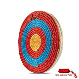 KAINOKAI Traditional Hand-made Archery Target with Arrow Puller,Arrows Target for Recurve Bow Longbow or...
