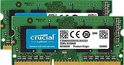 Crucial 16GB Kit (8GBx2) DDR3/DDR3L 1333 MT/s (PC3-10600) SODIMM 204-Pin Memory For Mac - CT2K8G3S1339M