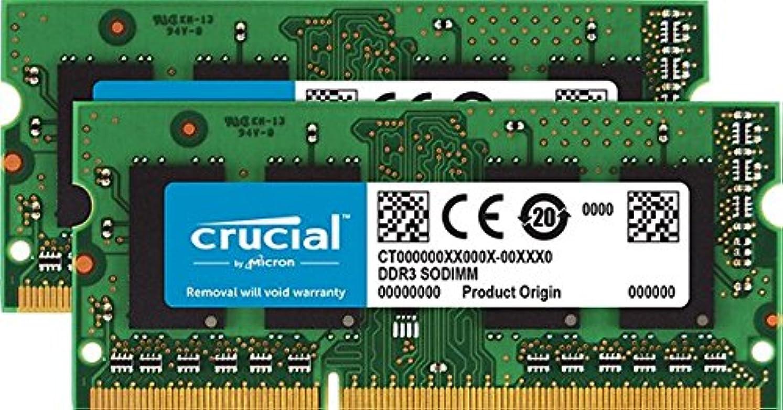 愛人アスレチック最少16?GB Kit (8gbx2?)アップグレードfor a Apple MacBook Proインチddr32.3?GHz Intel Core i5?(early-2011システム(ddr3?pc3?–?10600、Non - ECC、)