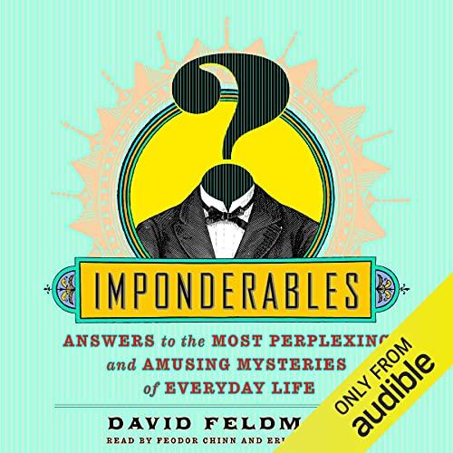 Imponderables Audiobook By David Feldman cover art