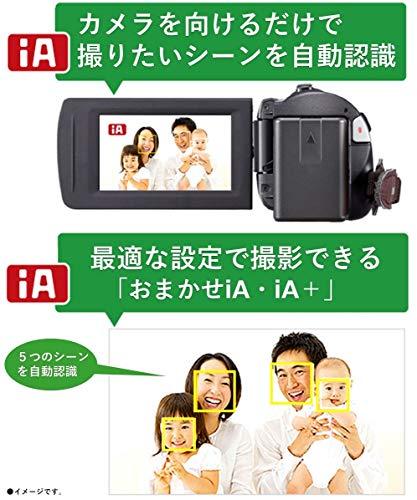 『パナソニック HDビデオカメラ V360MS 16GB 高倍率90倍ズーム ホワイト HC-V360MS-W』の4枚目の画像