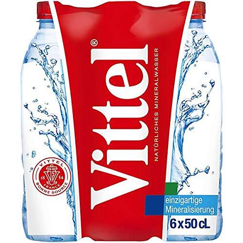 Vittel Mineralwasser (24/500ml), inkl. 6,00 € DPG Pfand, EINWEG